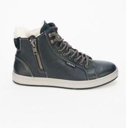 Boots are man's winter new, nat.kozha.