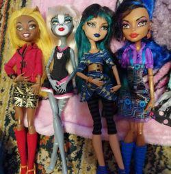 Куклы Монстер хай в отличном состоянии