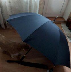 Umbrella trestie de sex masculin, new.Italy