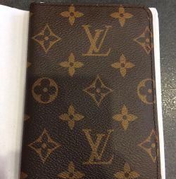 обложка на паспорт LV