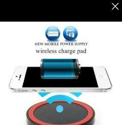 Беспроводная зарядная панель Qi для смартфонов