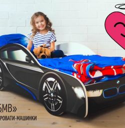 Bed BMW car