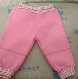 Новые штанишки на 3-6 мес.