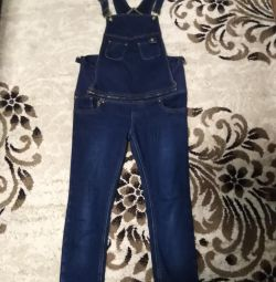 The overalls warmed for pregnant women.