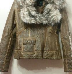Куртка из иск.кожи.Новая.42-44 размер