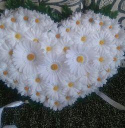 Καρδιά χαμομηλιού