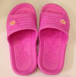 Papuci de 20 cm de-a lungul branțului
