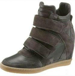 Το νέο I'M Walking δερμάτινα πάνινα παπούτσια μεγέθους 41.