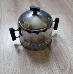 Cupronickel Sugar Bowl