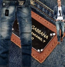 Jeans Dolce & Gabbana. Novye.Original.Italy