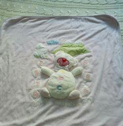 Pătură pentru nou-născut.