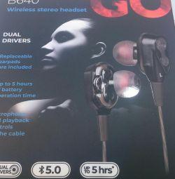 Ακουστικά Bluetooth 2 νέα ηχεία