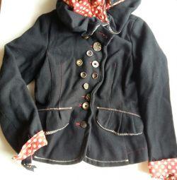 Куртка з драпу.