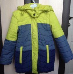 Noua haină scurtă pentru copii (până la -5) p. 92-98 fată