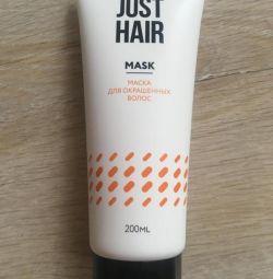 JUST HAIR Mask pentru păr colorat, 200 ml.