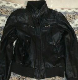 Unisex leather jacket 2xl