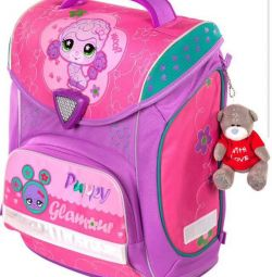 Портфель ранец Hummingbird H5 Puppy Glamour