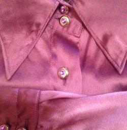Bluze din mătase naturală