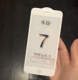 Стекло на IPhone 7+