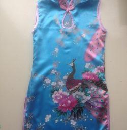 Платье в японском стиле 2-3года