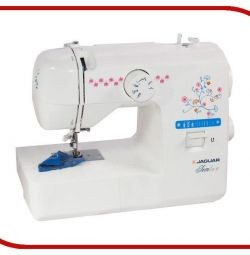 Sewing machine (new) JAGUAR JemLux, white