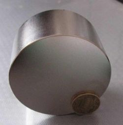 Neodim mıknatıs 70x50 mm. N42 Markası.