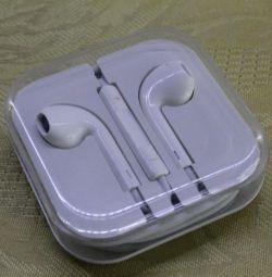Apple iPhone beyaz için kulaklık
