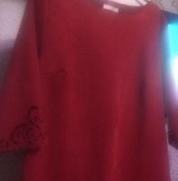 Νέο φόρεμα από σουέτ