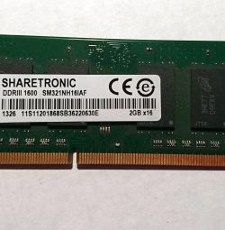 RAM from a laptop in stock