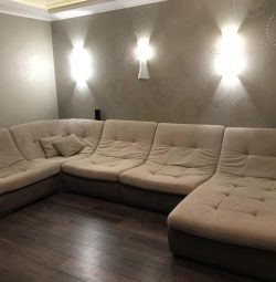 Modular sofa, Armani Silver