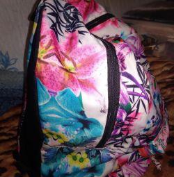 Sırt çantası Çiçekler