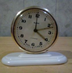 Clock. alarm clock. the USSR