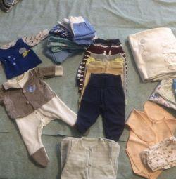 Τα πράγματα για ένα αγόρι από 0 έως 3 μήνες