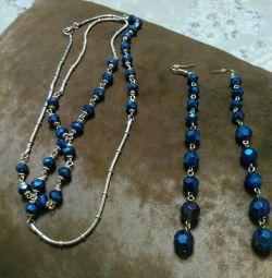 Beads and earrings