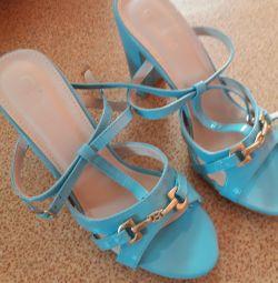 Sandale 39 turcoaz