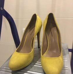 Туфли замшевые CorsoComo р-р 37, но на 38