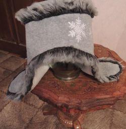 A winter hat