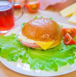 Бутерброды (гамбургеры)