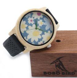 Bambu kadın saati, yeni, yapılmış