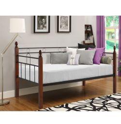 Καναπές Κρεβάτι Mila Μέταλλο Ξύλο 90x190