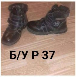 χειμωνιάτικες μπότες р 36-37
