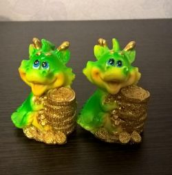 Dragon Figurines 3pcs