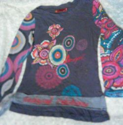 Blouse cool Gloria for a girl 7-8 years old