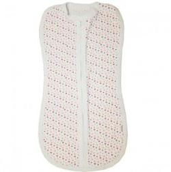 Baby diaper-cocoon with a zipper