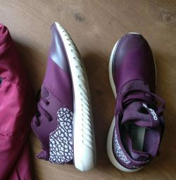 Adidas tubular maroniu