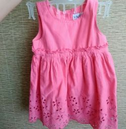 Dress for the daughter baby Go p.74 + gift