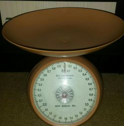 Kitchen scales 3 kg.