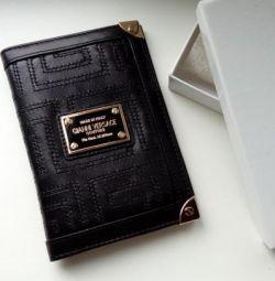 Εξώφυλλο διαβατηρίου Gianni Versace