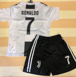Football forms Juventus, Ronaldo, new.