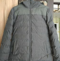 Down jacket quicksilver